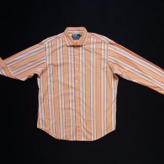 Camasa Polo by Ralph Lauren Estate Sport 100% Two-Ply; L, vezi dim.; ca noua - Camasa barbati, Marime: L, Culoare: Din imagine, Maneca lunga