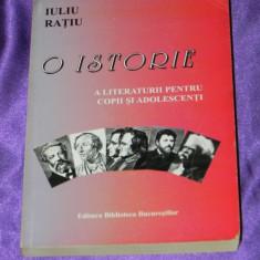 Iuliu Ratiu - O istorie a literaturii pentru copii si adolescenti (f0306