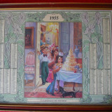 CALENDAR VECHI ITALIA 1955 - Calendar colectie