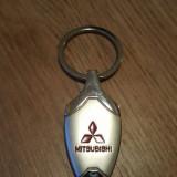 Breloc cromat Mitsubishi