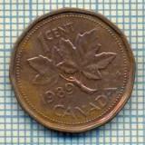 7753 MONEDA- CANADA - 1 CENT - anul 1989 -starea ce se vede, Europa