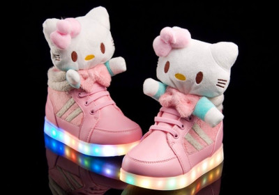 Adidasi Ghete H.Kitty LED. Disponibili in 2 culori. *** NEW COLLECTION *** foto