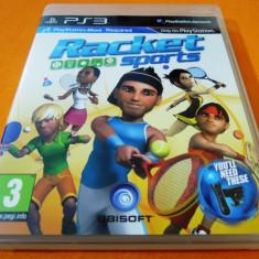 Joc Move Racket Sports, PS3, original! Alte sute de jocuri! - Jocuri PS3 Sony, Sporturi, 12+, Multiplayer
