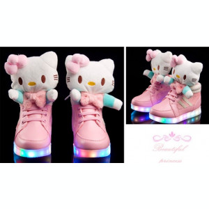 Adidasi Ghete H.Kitty LED. Disponibili in 2 culori. *** NEW COLLECTION ***