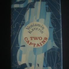 VENIAMIN KAVERIN - TWO CAPTAINS - Carte in engleza