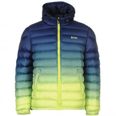 Geaca Originala Lee Cooper Gradient Jacket Mens Lime - Geaca barbati, Marime: S, M, Culoare: Din imagine