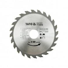 Disc Fierastrau Wolfram pentru Lemn Yato 160*48*20 YT-6058 - Masa pentru taiat