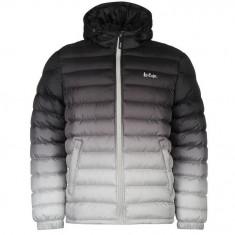 Geaca Originala Lee Cooper Gradient Jacket Mens Charcoal - Geaca barbati Lee Cooper, Marime: S, M, L, Culoare: Din imagine