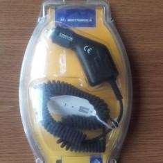 Incarcator auto pentru Motorola STARTAC 1997 model 130 75 85 etc - Incarcator telefon Motorola, De masina
