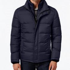 Geaca iarna Calvin Klein Calvin Klein Quilted masura S M L - Geaca barbati Tommy Hilfiger, Culoare: Albastru