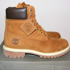 Ghete Timberland 6 Inch Premium Waterproof Boots Rust/Brown 72066 nr. 40 - Ghete barbati Timberland, Culoare: Din imagine, Piele intoarsa