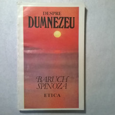 Baruch Spinoza – Etica {Antet, 1993} - Filosofie