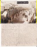 Focsani ( Vrancea )  -  Strada Mare-animata,  rara-militara, WWI,WK1, Circulata, Printata