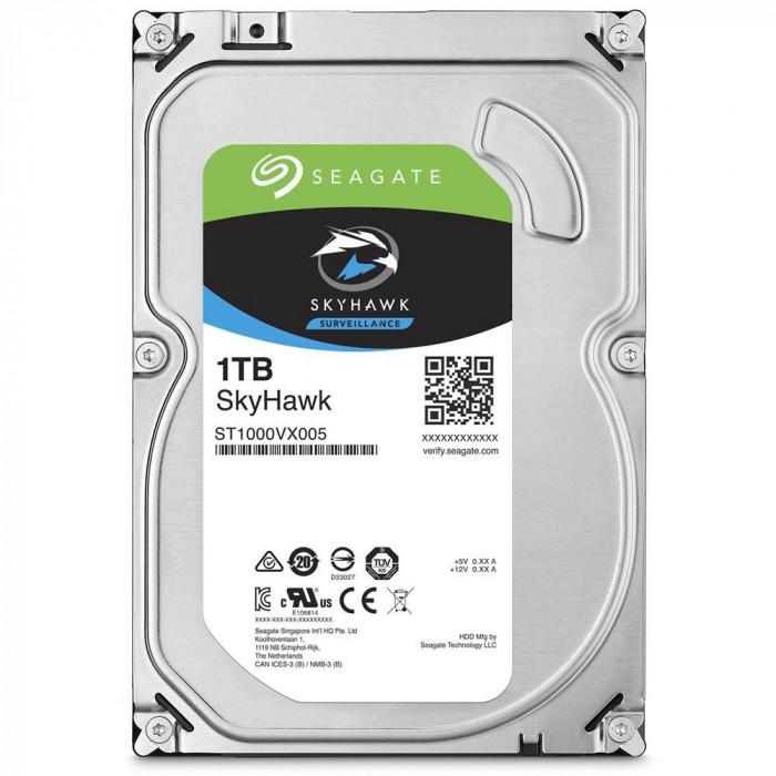 Aproape nou: Hard Disk intern Seagate SkyHawk HDD 1TB CCTV ST1000VX005 foto mare