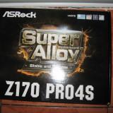 I7-6700k +16 giga ram ddr4 + ASROCK Z170 PRO4S /noi /garantie - Placa de Baza Asrock, Pentru INTEL, Contine procesor, ATX