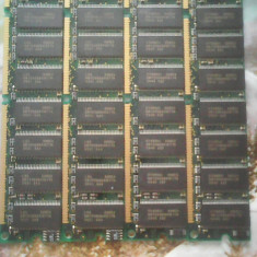 Kit Vintage memorie SD Ram 256 Mb (4 buc x 64 mb) 84 pini PC 100 L02 - Memorie RAM, Dual channel