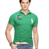 Tricou Ralph Lauren  CUSTOM-FIT NAUTICAL GREEN M si L