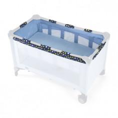 Etaj intermediar pentru patut pliant Spring - Patut pliant bebelusi Chicco, Albastru