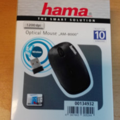 Mouse Optical Wireless Hama AM-8000, 1000-2000