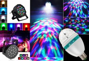 Glob Laser PROIECTOR tip Star Shower+ BEC DISCO CRACIUN LED Lumini CLUB PARTY