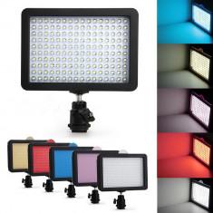 Lampa foto - video cu Led model SP-160 cu 160 leduri si 5 fete - Lampa Camera Video