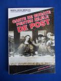 MAICA LUCIA NEDELEA - CARTE DE BUCATE PENTRU ZILELE DE POST - 1996