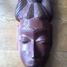 MASCA AFRICANA, LEMN DE ESENTA NOBILA, MANUAL. - Arta din Africa