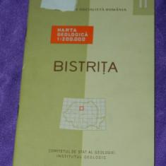 Judetul Bistrita nota explicativa la Harta geologica (f0302 - Harta Romaniei