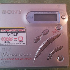 Minidisc sony MZ-R500 walkman sony - CD player