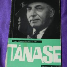 Ioan Massoff, Radu Tanase - Constantin Tanase (f0240 - Carte Teatru