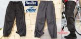 Pantaloni de ploaie impermeabili, Bleumarin, Negru