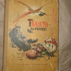 Traista cu povesti (ilustratii - Iura Darie ) an 1954/166pag - Carte de povesti