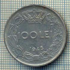7723 MONEDA- ROMANIA - 100 LEI - anul 1943 -starea ce se vede