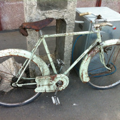 Bicicleta vintage Motobecane Porteur - Bicicleta retro, 26 inch, Numar viteze: 1
