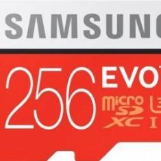 Card de Memorie Samsung EVO Plus microSD Card 256GB + Adaptor SD - Card memorie Samsung, Mini SD, 128 GB