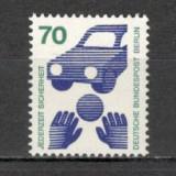 Berlin.1973 Prevenirea accidentelor CB.187 - Timbre straine, Nestampilat
