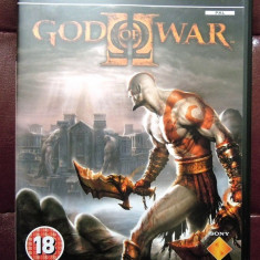 Joc God of War II, PS2, original, PAL, alte sute de jocuri! - Jocuri PS2 Sony, Actiune, 18+, Single player