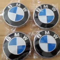 Capacele centrale NOI pentru jante aliaj BMW - 68 mm cu 10 picioruse ORIGINALE - Capace janta