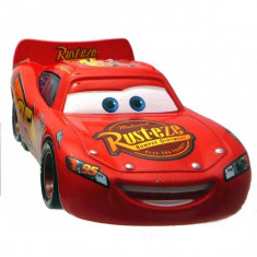 Disney Cars 2 - Lightning Mcqueen Cu Roti De Curse - Masinuta electrica copii Mattel