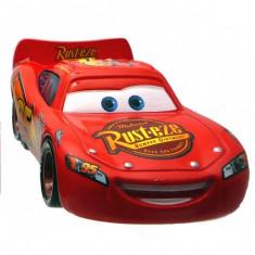 Disney Cars 2 - Lightning Mcqueen Cu Roti De Curse - Masinuta Mattel