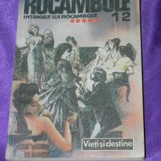 Rocambole - vol 12 Intrigile lui Rocambole - Ponson du Terrail (f0323 - Carte de aventura
