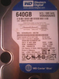 Cumpara ieftin Hard-disk WD 640 GB-Blue, Sata2, 7200 rpm, 16MB+cooler, 700 zile, 99% health L14