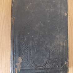 BIBILIA- EDITIE RUSEASCA, 1890 IN SCRIERE VECHE SI ALFABET RUSESC AL ANULUI 1890 - Biblia