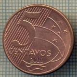 7827 MONEDA- BRAZILIA - 5 CENTAVOS - anul 2010 -starea ce se vede, Europa