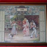 CALENDAR VECHI ITALIAN 1990 - Calendar colectie