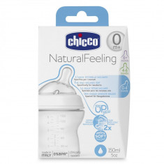 Biberon Chicco STEP UP, 150ml, t.s., flux normal, 0luni+, 0%BPA