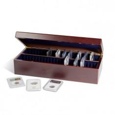 Cutie pentru 50 monede de capsule SLABS