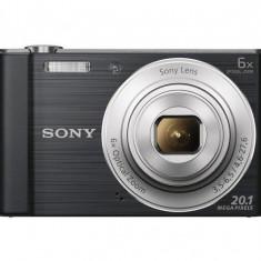 SONY Cyber-shot DSCW810B Compact Camera - Black - Aparat Foto Sony DSC-W710