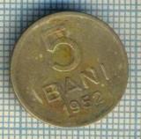 7695 MONEDA- ROMANIA - 5 BANI - anul 1952  -starea ce se vede