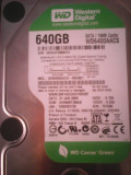 Hard-disk WD 640 GB-Green, Sata2, 5400 rpm, 16MB+cooler, 1025 z 100%health L15, 500-999 GB, Western Digital